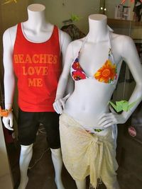 Summer beach clothes at House of Sage boutique