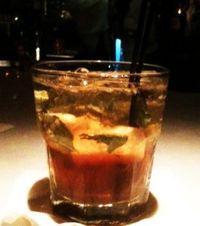 Peninsula Tea Cocktail at Amen Street Fish and Raw Bar