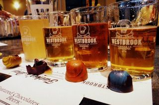 Westbrook Brewing Co and Christophe Artisan Chocolatier Beer and Chocolate Pairing