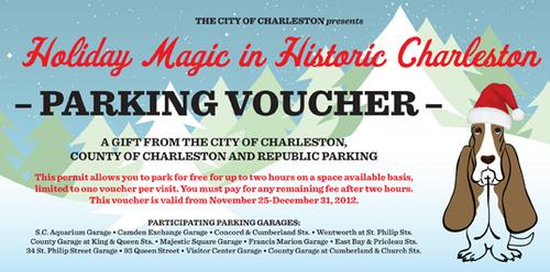 Holiday Magic Parking Voucher