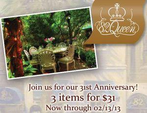 82 Queen 31st anniversary