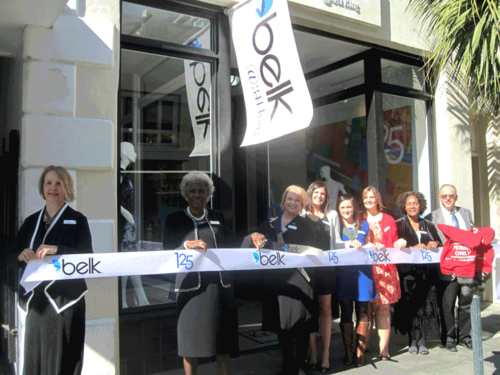 Belk at 341 King Street Charleston Pop Up Shop