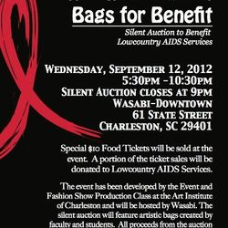 Bags for Benefit at Wasabi