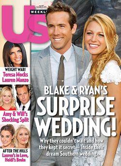 Blake Lively and Ryan Reynolds Charleston Wedding
