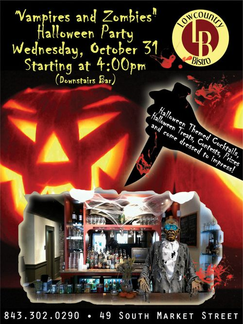Halloween Party at Lowcountry Bistro