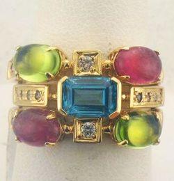 Multi-ring set at Joint Venture Estate Jewelers