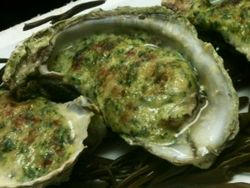 Baked Oysters at Amen Street Fish Raw Bar