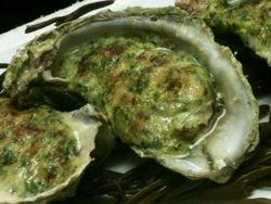 Baked Oysters at Amen Street Fish Raw Bar
