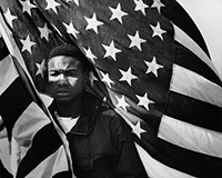 Selma to Montgomery March for Voting Rights in 1965 by James Karales
