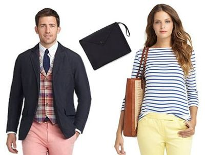 Weekend Getaway Spring Collection from Brooks Brothers