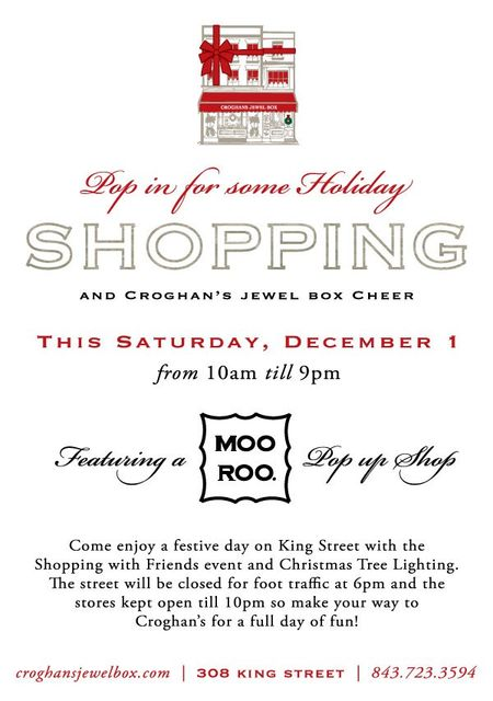 Moo Roo Pop Up Shop at Croghans Jewel Box