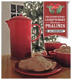Praline Classes at Le Creuset during 2nd Sunday