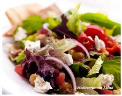 Mediterranean Salad Tazikis Cafe