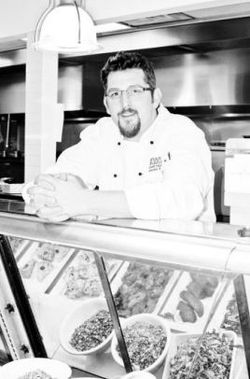 Chef Steve Roule at Caviar and Bananas