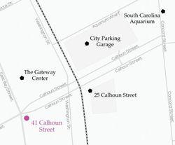Aquarium Wharf District Map