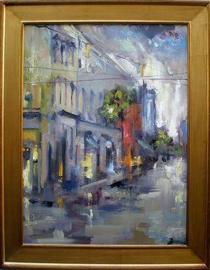 Amen Street painting by Rick Reinert