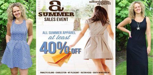 Affordables Apparel Summer Sale