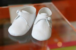 Rudin Needlecraft Baby Shoes at Campo Marzio