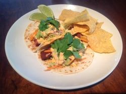 Fish Tacos at Amen Street Fish and Raw Bar