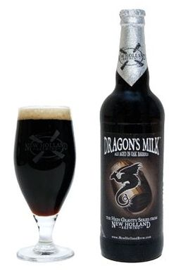 New Holland Dragon's Milk Keg Tapping