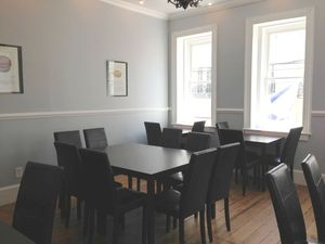 Christophe Artisan Chocolatier Patissier upstairs lounge