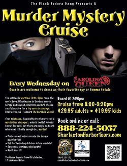 Charleston Harbor Tours Murder Mystery Cruise