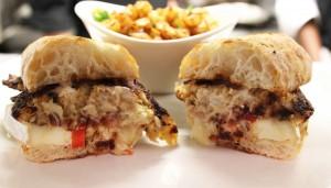 Hot Shrimp and Crab Sandwich at Amen Street Fish and Raw Bar