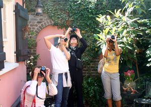 Gibbes Museum Photography Sampler Class with Joyce Aungst