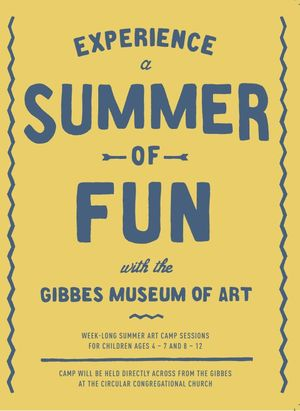 Summer Art Camp at the Gibbes Museum of Art
