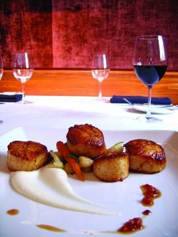 Scallops at Carolina's Bistro