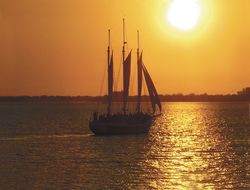 Charleston Harbor Tours Sunset Cruise