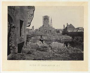 Photograph Ruins in Charleston South Carolina