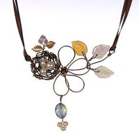 Robin Goodfellow Designs Flowering Nest Necklace