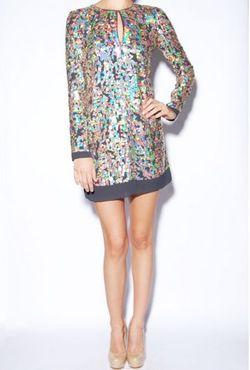 Hampden Clothing Sequin Dress
