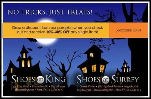 Shoes on King Halloween Sale
