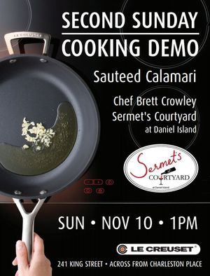 Second Sunday Le Creuset Cooking Demo