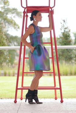 Cynthia Rowley Technicolor Dream Dress