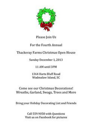 Thackeray Open House
