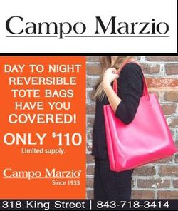 Campo Marzio Leahter Reversible Tote Bag