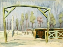 Gateway to Mule Stables by Charles Burchfield