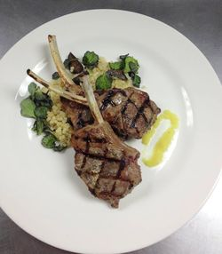 Lamb Chops at Muse Restaurant