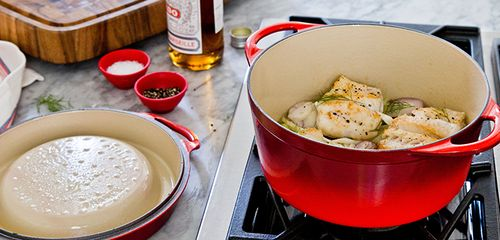 Le Creuset Cooking Demo