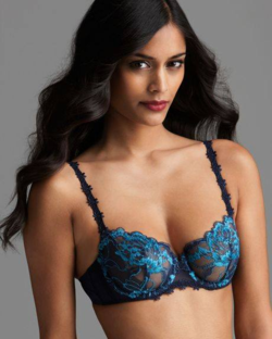 Bits of Lace Simon Perele Amour Demi Bra