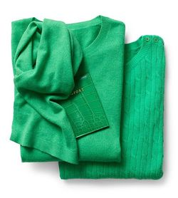 Talbot's Kelly Green Sweater