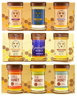 Savannah Bee Company Honey Sample Set