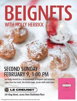 Beignets with Holly Herrick