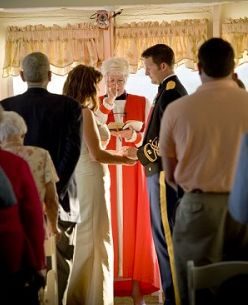 Charleston Harbor Tours Wedding