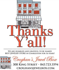 Croghan's Jewel Box Best of Charleston 2014