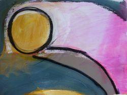 Lyssa Harvey Circles of Gratitude 44 Acrylic on Paper