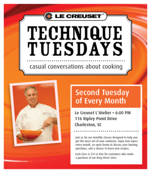 Technique Tuesdays at Le Creuset